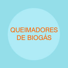 Queimadores de biogás